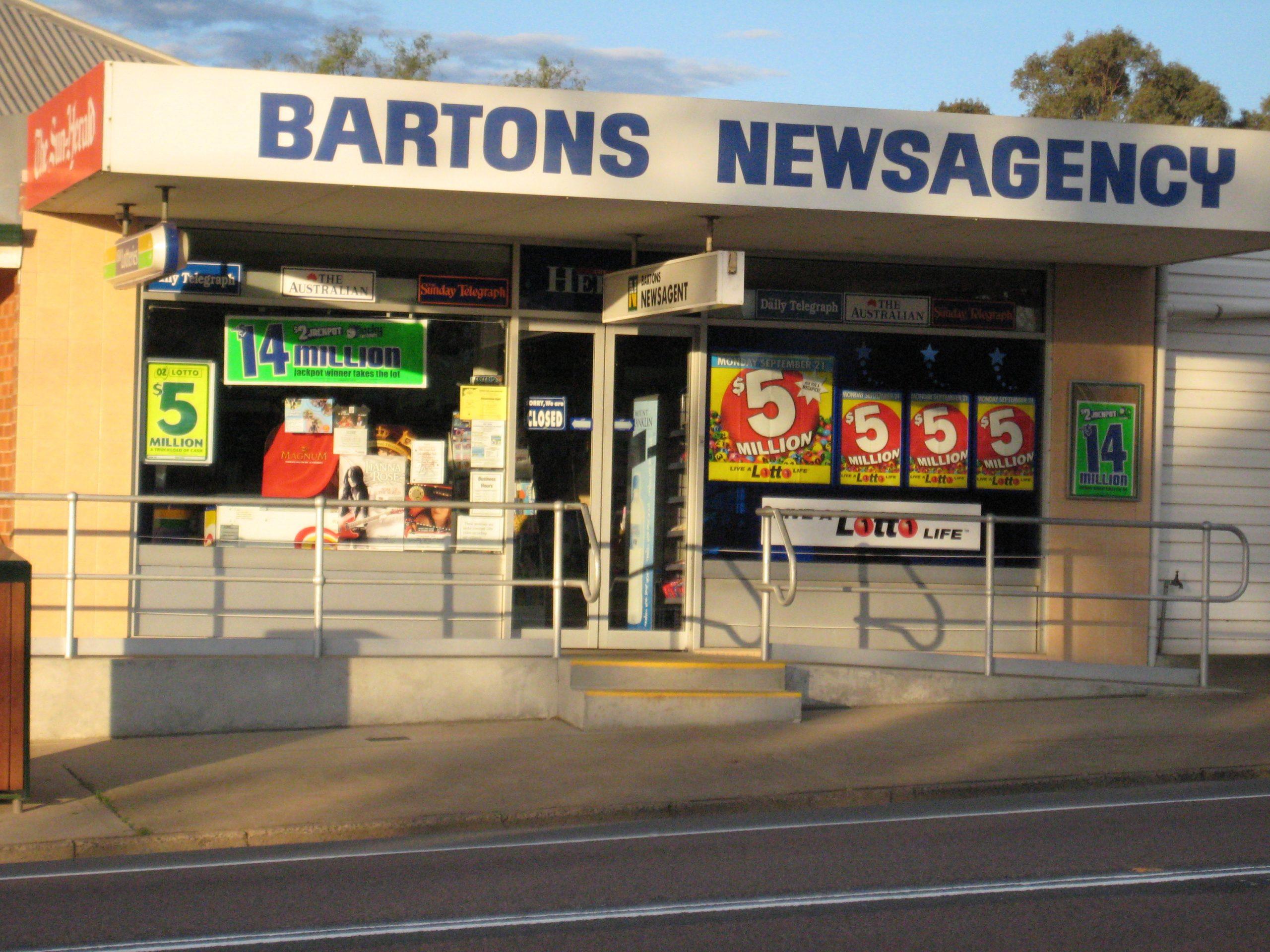 Bartons Newsagency