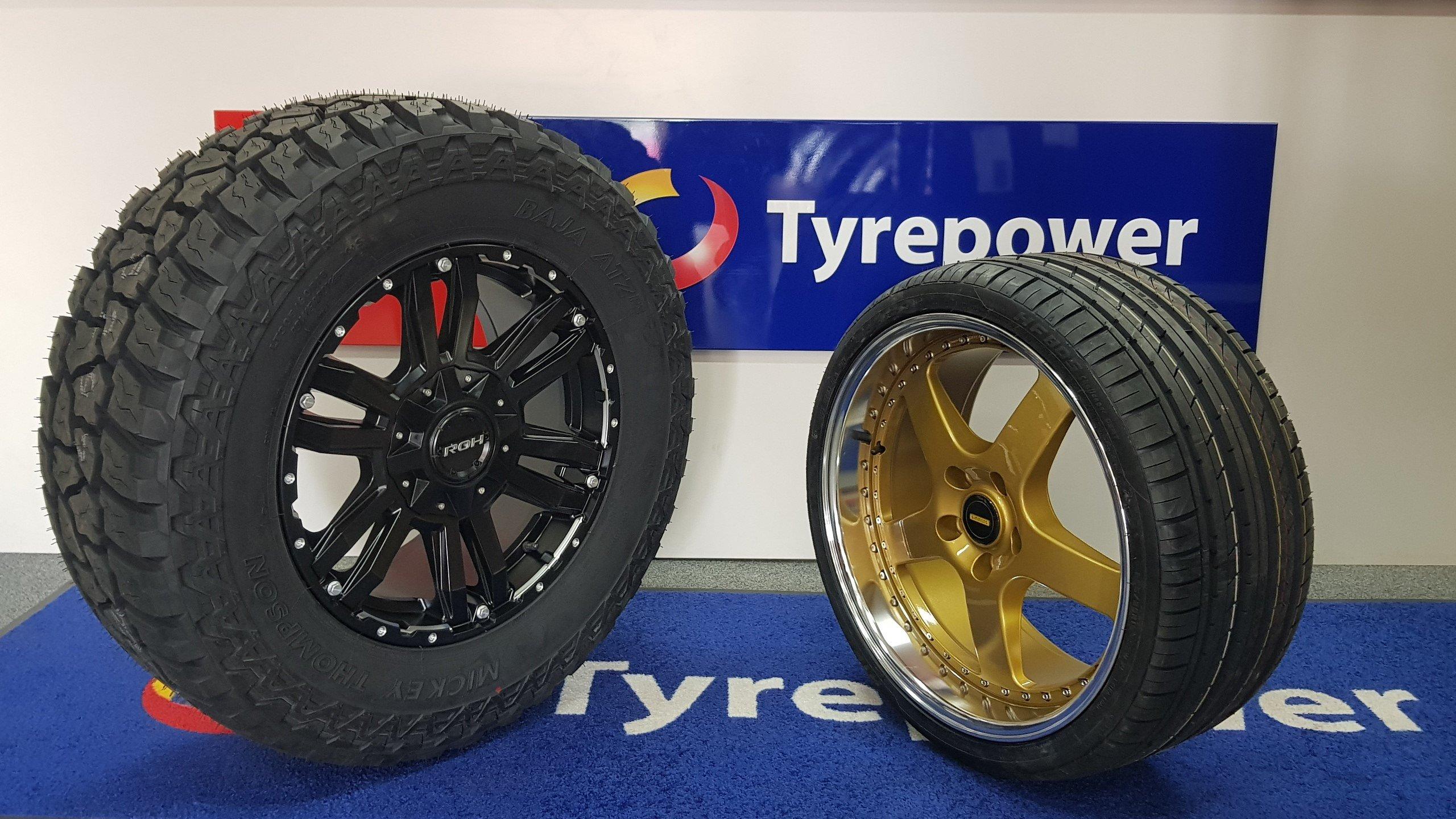 Tyrepower Scone